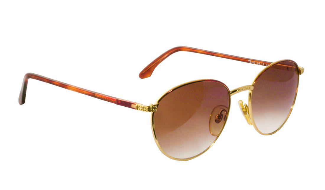 vintage sunglasses, round sunglasses, vintage round sunglasses, gold round glasses